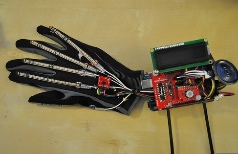 RB-02S046 flex Sensor Robotic Electronic Gloves Recommended for Arduino