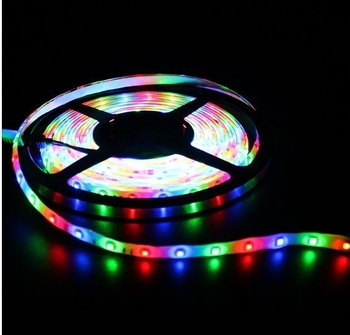 Flexible RGB LED Strip Light SMD3528 JYVVY-3528RGB60-IP65