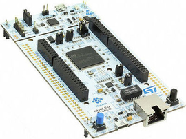 STM32 Nucleo-144 development board with STM32F303ZE MCU supports Arduino  ST Zio,morpho connectivity_NUCLEO-F303ZE
